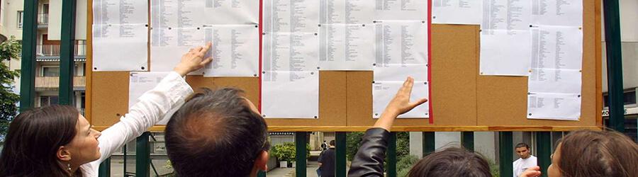 Listes des candidats convoqués à passer l'examen écrit - LP