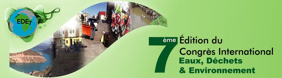 7ème édition du Congrès International Eaux, Déchets & Environnement